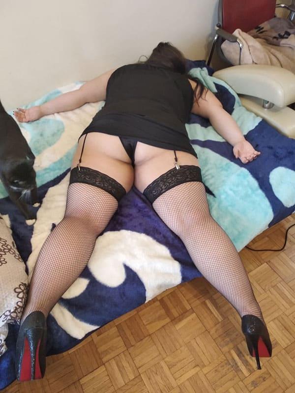 Порно Толстых На Улице
