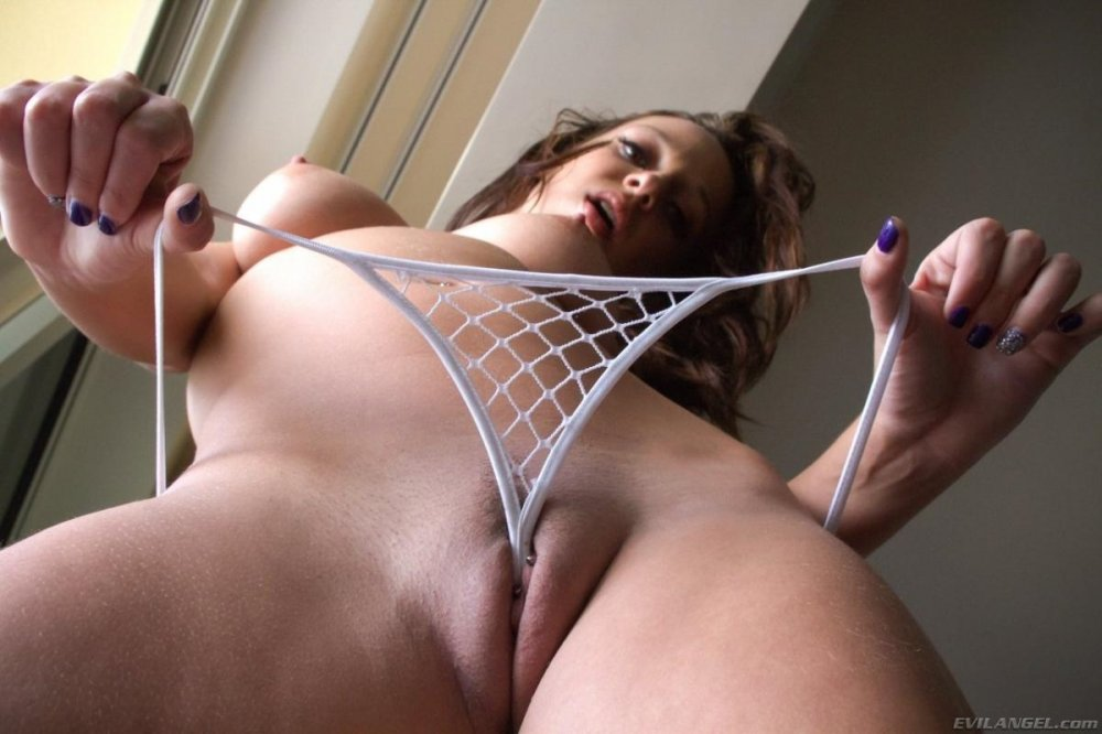 Фото прозрачные трусики секс телку пока
