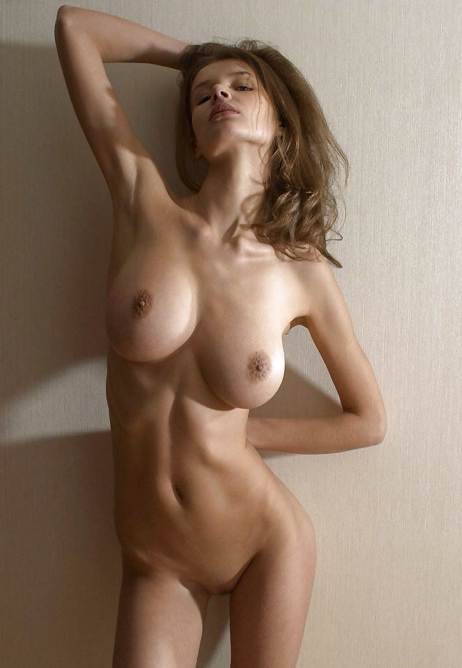 Skinny big boobs photo
