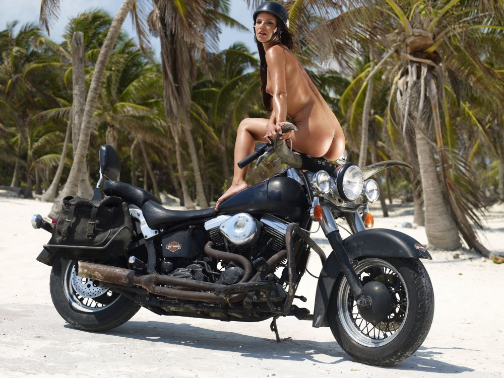 Nude harley davidson motorcycle girls neighbor
