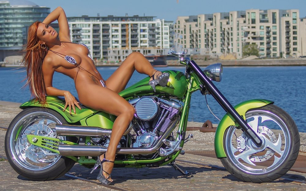 Babe biker pic sexy, men shave ass chest