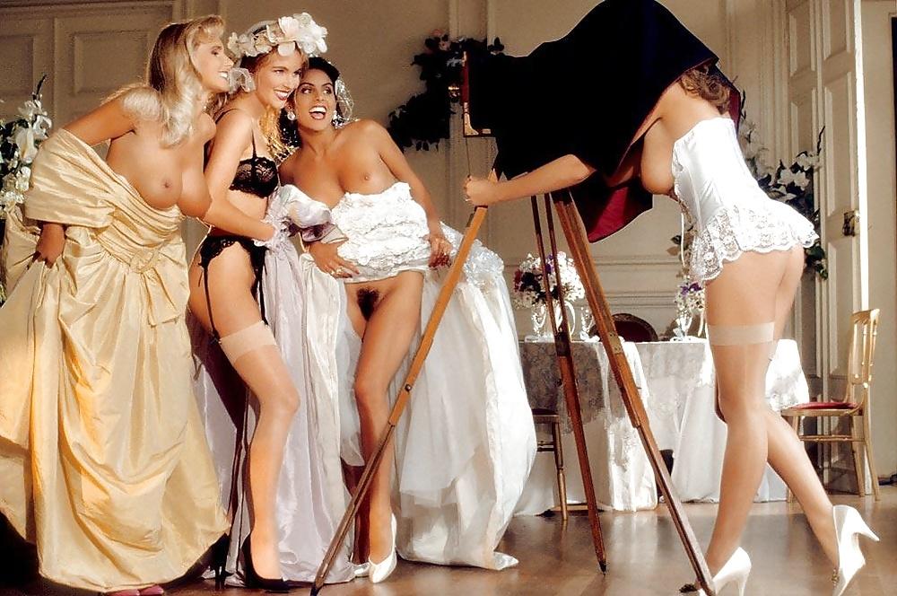 Naked girls from wedding crashers